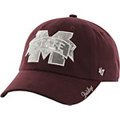 '47 Women's Mississippi State Bulldogs Maroon Clean Up Sparkle Adjustable Hat
