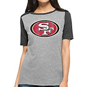 '47 Women's San Francisco 49ers Empire Grey T-Shirt