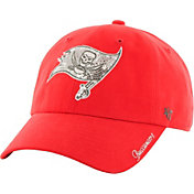 '47 Women's Tampa Bay Buccaneers Sparkle Logo Purple Adjustable Hat