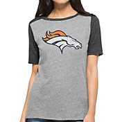 '47 Women's Denver Broncos Empire Grey T-Shirt