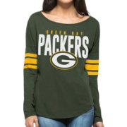 '47 Women's Green Bay Packers Courtside Green Long Sleeve Shirt