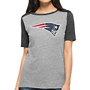 '47 Women's New England Patriots Empire Grey T-Shirt