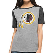 '47 Women's Washington Redskins Empire Grey T-Shirt
