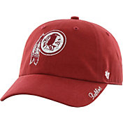 '47 Women's Washington Redskins Sparkle Logo Red Adjustable Hat