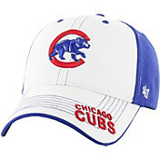 '47 Youth Chicago Cubs Revolution MVP White/Royal Adjustable Hat