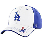 '47 Youth Los Angeles Dodgers Revolution MVP White/Royal Adjustable Hat