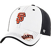 '47 Youth San Francisco Giants Revolution MVP White/Black Adjustable Hat