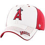 '47 Youth Los Angeles Angels Revolution MVP White/Red Adjustable Hat