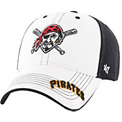 '47 Youth Pittsburgh Pirates Revolution MVP White/Black Adjustable Hat