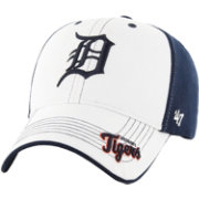 '47 Youth Detroit Tigers Revolution MVP White/Navy Adjustable Hat