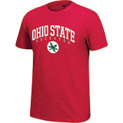 4th and 1 Men's Ohio State Buckeyes Scarlet Staple T-Shirt