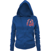 5th & Ocean Women's 2016 World Series Champions Chicago Cubs Royal Full-Zip Hoodie