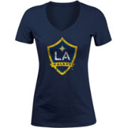 5th and Ocean Women's Los Angeles Galaxy Navy Logo T-Shirt