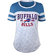 5th & Ocean Women's Buffalo Bills Space Dye Red T-Shirt