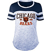 5th & Ocean Women's Chicago Bears Space Dye Navy T-Shirt
