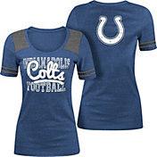 5th & Ocean Indianapolis Colts Tri-Blend Navy T-Shirt