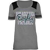 5th & Ocean Philadelphia Eagles Tri-Blend Grey T-Shirt