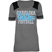 5th & Ocean Carolina Panthers Tri-Blend Grey T-Shirt