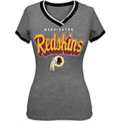 5th & Ocean Women's Washington Redskins Tri-Blend Grey T-Shirt