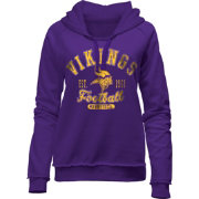 5th & Ocean Women's Minnesota Vikings Purple Hoodie