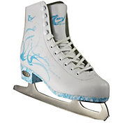 American Athletic Shoe Women's Turquoise Insole Figure Skates