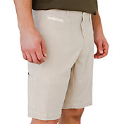 Linksoul Men's Chambray Tonal Stripe Golf Shorts
