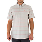 Linksoul Men's Micro Stripe Knit Golf Polo