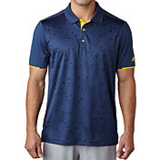 adidas Men's climacool Stratus Print Golf Polo
