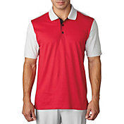 adidas Men's climacool Aeroknit Block Golf Polo