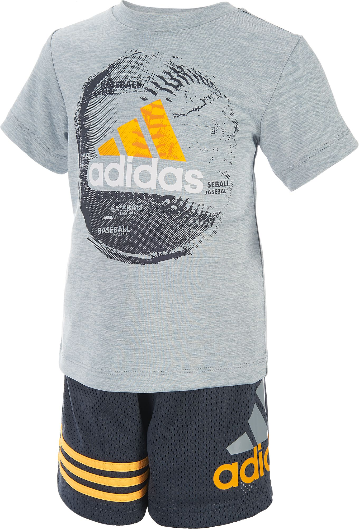 adidas Infant Boys Defender T Shirt and Shorts Two Piece Set DICKS Sporting Goods