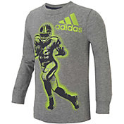 adidas Little Boys' Game Time Long Sleeve Shirt