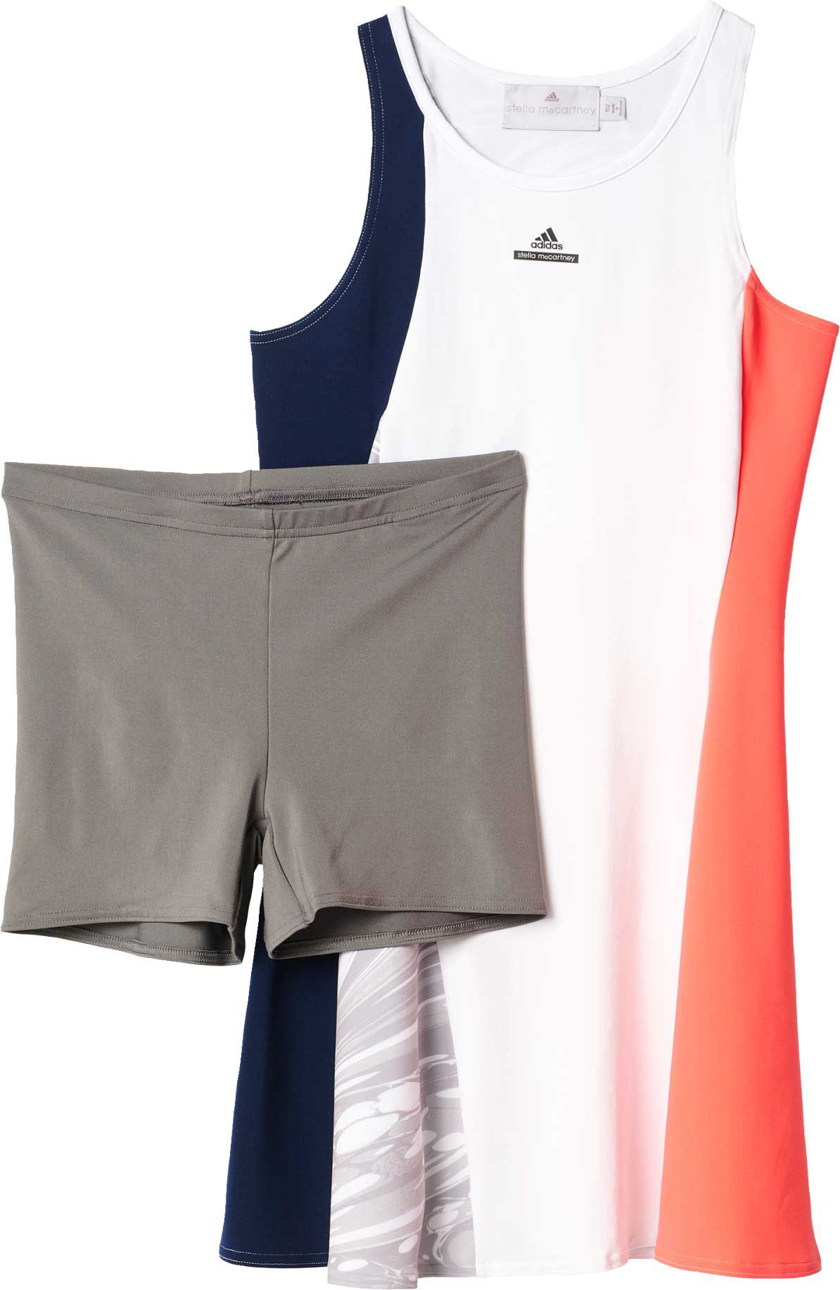 adidas Girls Stella McCartney New York Barricade Tennis Dress DICKS Sporting Goods