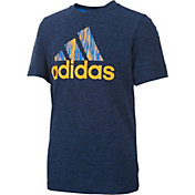 adidas Little Boys' Print Logo T-Shirt