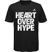 adidas Boys' Heart Over Hype Basketball Graphic T-Shirt