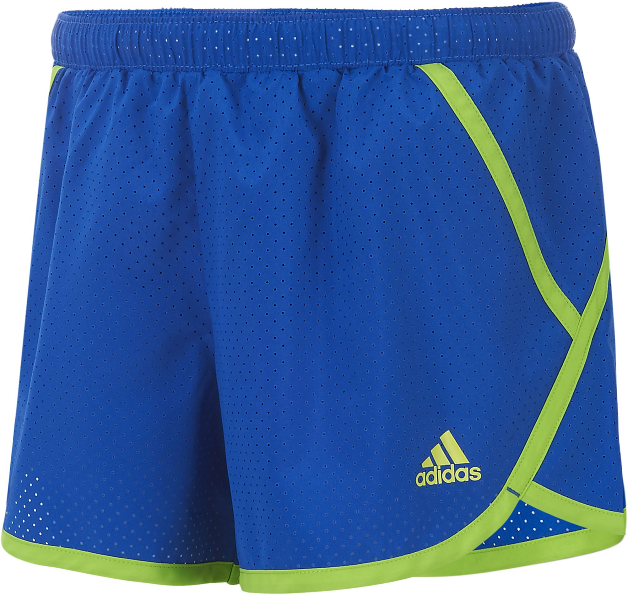 adidas Girls Finish Line Woven Shorts DICKS Sporting Goods