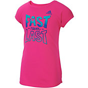 adidas Little Girls' Game On T-Shirt