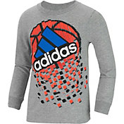 adidas Little Boys' Game Shattering Long Sleeve Shirt