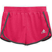 adidas Girls' Knit 3'' Shorts