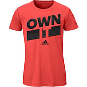 adidas Girls' Own It Graphic T-Shirt