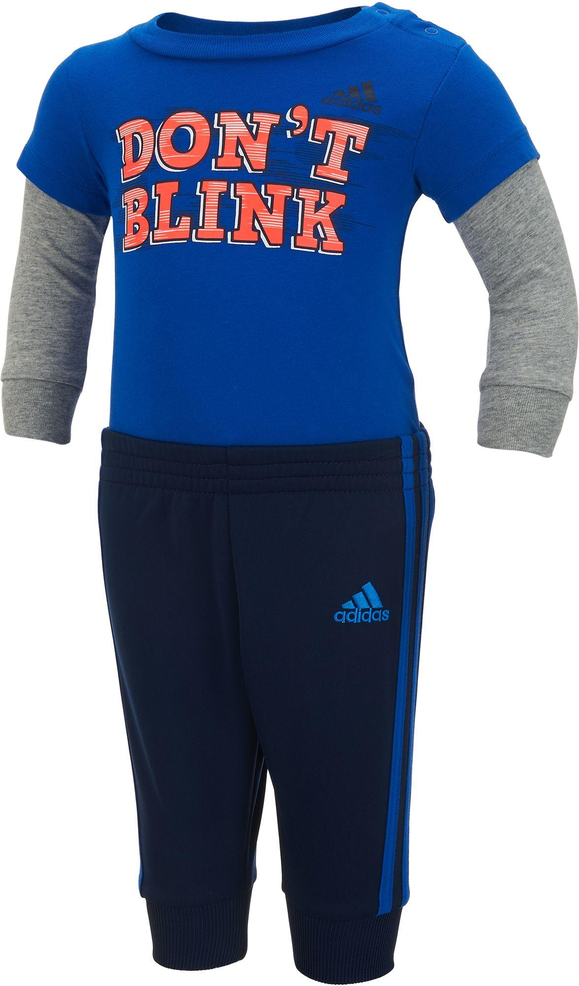adidas Infant Boys Dont Blink Bodysuit Set DICKS Sporting Goods