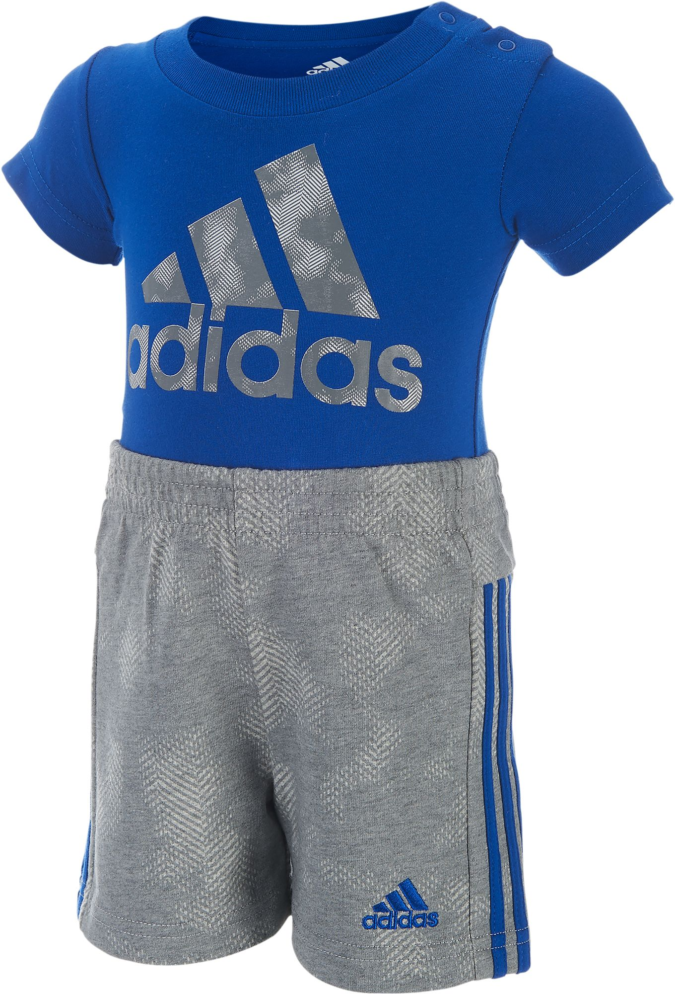 adidas Infant Boys Dynamic Rise Bodysuit and Shorts Two Piece Set DICKS Sporting Goods