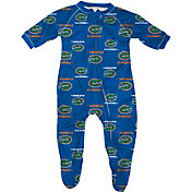 adidas Infant Florida Gators Blue Full-Zip Sleeper