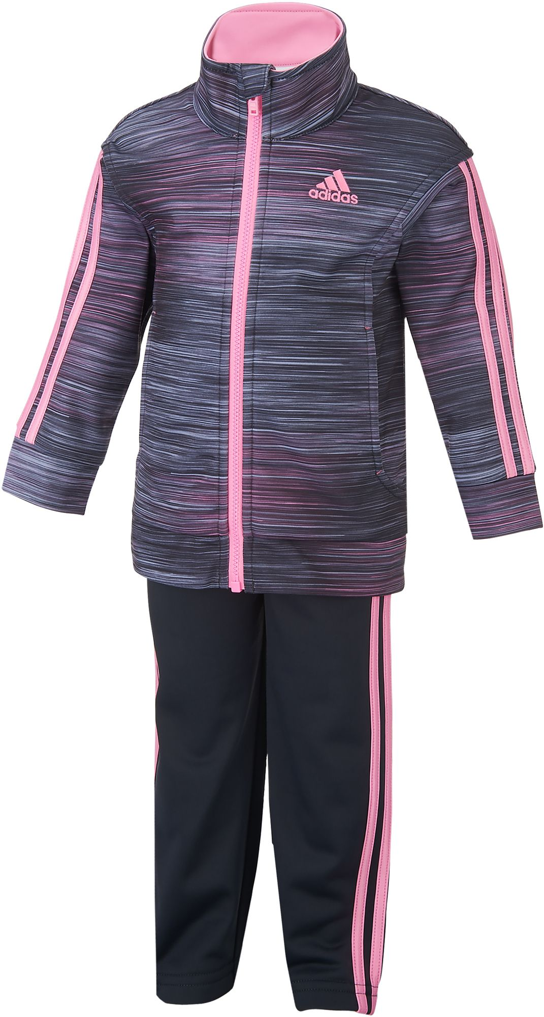 adidas Infant Girls Printed Tricot Jacket and Pants Set DICKS Sporting Goods