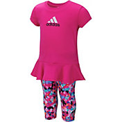 adidas Infant Spin T-Shirt and Capris Set
