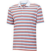 adidas Men's climacool Sport Classic Stripe Golf Polo