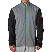 adidas Men's climaproof Heather Stretch Full-Zip Jacket