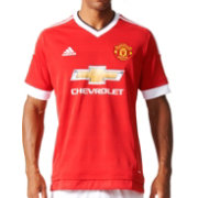 adidas Men's Manchester United 15/16 Red Home Jersey