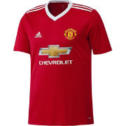 adidas Men's Manchester United 15/16 Red Replica Top