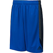 adidas Men's Dual Threat 3-Stripes Basketball Shorts