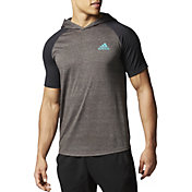 adidas Men's Ultimate Short Sleeve Hooded Tee